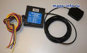 Спутниковый терминал FM2200 с антенной и коммуникационным кабелем