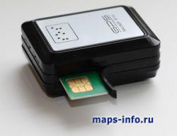 SIM карта оператора вставляется в боковую прорезь MT88, защелкивается глубоким продавливанием и закрывается резиновой заглушкой: