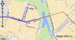 Трек маршрутного регистратора Neotech TR1000 ГЛОНАСС
