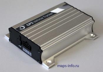 GPS трекер MVT340 со стороны коммуникационного разъёма