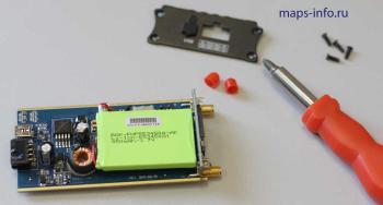 Разобранный спутниковый GPS трекер MVT340