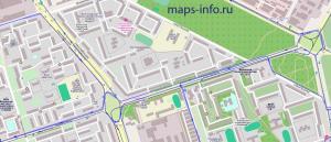 Трек (след вижения) автомобиля с установленным GPS трекером MVT340 в системе ГЛОНАСС GPS мониторинга