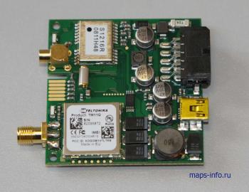 Внутреннее устройство трекера Тельтоника FM1100