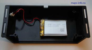 Крышка корпуса GPS ГЛОНАСС трекера Нависет GT10 с аккумуляторной батареей