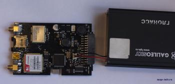 Автомобильный контроллер GALILEO ГЛОНАСС / GPS в разобранном состоянии