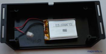Крышка трекера Naviset GT20  с приклеенным аккумулятором