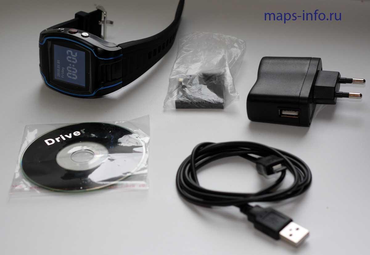 Комплект часов трекера CRT19N GPS Watch