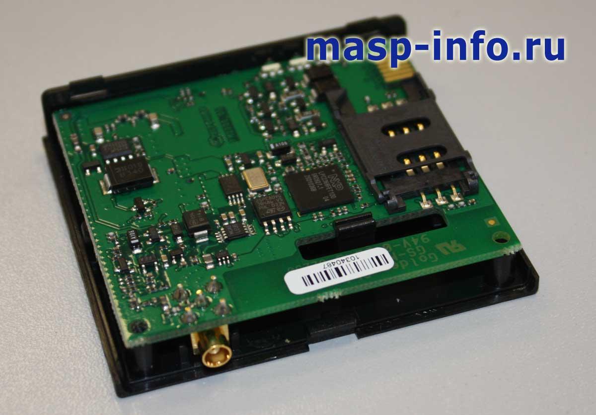 FM2200 внутри со стороны установки SIM карты