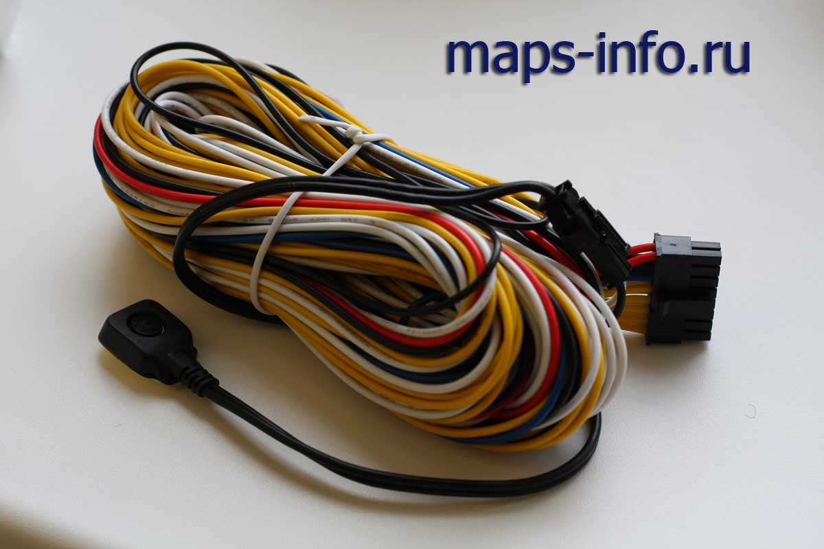Коммуникационный шлейф MVT380 с тревожной кнопкой